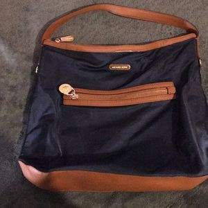 Michael Kors navy blue handbag